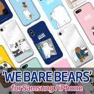 ★Authentic★We Bare Bears Color Case★New Samsung Note 9 / Samsung / iPhone Casing!/
