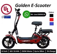 Kido Golden * UL2272 * LTA Compliance Electric Scooter * Maximalsg