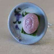 Purple Ang Gu Kueh Ring