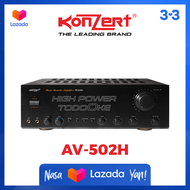 KONZERT AV-502H AMPLIFIER *NEW 2020 MODEL*