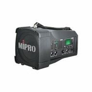 【音旋音響】MIPRO嘉強 MA-100DB 超迷你肩掛式無線喊話器 黑色 公司貨 12個月保固