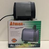 Atman liquid filter At-104/38w/ 2000L /h /2m 适合4、5尺鱼缸用