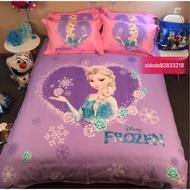 🔥🔥冰雪奇緣 艾莎 床罩 床單 枕頭 床包 四件組