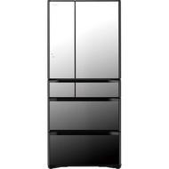 【獨家贈雙機】HITACHI 日立 六門冰箱 RG680J 琉璃鏡