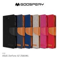 GOOSPERY ASUS ZenFone 5Z ZS620KL  CANVAS 網布皮套