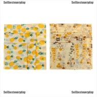 [Ready Stock] Food Wrap Beeswax Reusable Sustainable Plastic Free Beeswax Food Storage Wrap