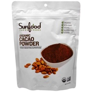 【MrsOrganics】現貨美國Sunfood cacao powder有機無糖低碳生可可粉無麩質未堿化~