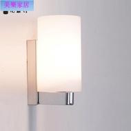 現代簡約床頭不銹鋼壁燈創新led客廳燈過道陽臺樓梯燈臥室墻壁燈