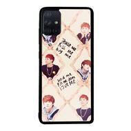 Case Samsung Galaxy A51 A71 Bts Bangtan Boys Soft Hard Diy Custom Phone Case Casing L0481