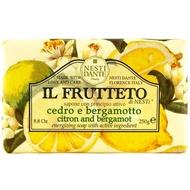 義大利Nesti Dante手工香皂【檸檬佛手柑】250g