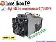 ใหม่ Innosilicon D9 DecredMaster 2.4TH/เอส 1000 วัตต์และ FFMiner D18 340GH/เอส 160 วัตต์ Asic คนงานเหมือง DCR miner ดีกว่า Antminer Z9 มินิ S9