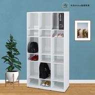 【米朵Miduo】3.2尺塑鋼開放式鞋櫃 置物鞋櫃(9格)