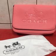 Coach彩虹🌈背帶,大logo 郵差包