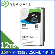 Seagate監控鷹SkyHawk 12TB 3.5吋 7200轉監控碟
