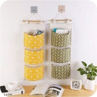 PAlight 2 Pcs Wall Hanging Storage Bag Organizer Pouch For Toys Books Container Pocket