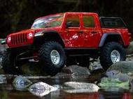 1/10 SCX10 III Jeep JT Gladiator Rock Crawler RTR 紅 攀岩車 大腳車