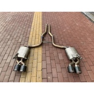 【YGAUTO】二手時間 Benz 賓士 W204 C63 升級 東歐 蠍子管 Akrapovic 二手尾段排氣管