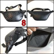 พร้อมส่ง🔥กระเป๋าผู้ชาย Coach แท้ F75761 F75596 F75591 F69305 F69303 F40345 F78777 กระเป๋าคาดเอวผู้ชาย / crossbody bag / กระเป๋าคาดอก