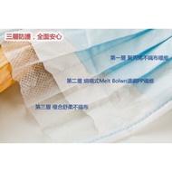 現貨(非醫療)台灣製造/平面(現貨)口罩50片 成人 藍色 數量有限 台灣製 【無鋼印】