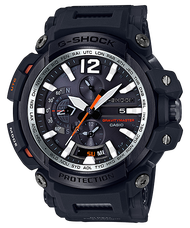 CASIO 卡西歐 GPW-2000-1ADR G-SHOCK 藍牙GPS接收電波飛行概念錶 黑 57.1mm