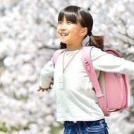 日本IONION 超輕量隨身空氣清淨機 專用兒童安全吊飾鍊-櫻花粉S-25CM