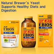 [Asahi] EBIOS★Brewers Yeast Gastrointestinal / Digestion /Nutritious supplement 600tab 2000tab JAPAN