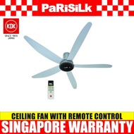 KDK T60AW Ceiling Fan with DC Motor and Remote Control - Singapore Warranty