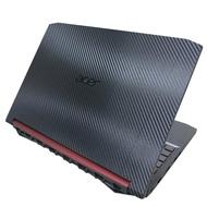 【Ezstick】ACER Nitro 5 AN515-54 黑色立體紋機身貼(含上蓋貼、鍵盤週圍貼)