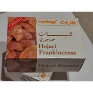 HOJARI FRANKINCENSE WHITE LARGE RESINS FROM OMAN in gift box with FREE 1 TUBE Charcoal each