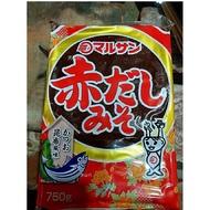 [天山行]丸山赤味噌(750g/包)日本製 紅味噌