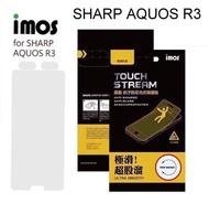 【iMos】霧面電競螢幕保護貼 SHARP AQUOS R3 (6.2吋) 電競專用 極滑 抗污 防反光