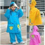 【Baby 童衣】兒童兩件式雨衣 雨衣雨褲套裝 88076(共三色)