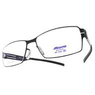 MIZUNO 美津濃 光學眼鏡 MF1225 C05 (黑) 簡約方框款 β鈦眼鏡 # 眼鏡品牌