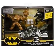 【DC漫畫】BATMAN蝙蝠俠 - 4吋蝙蝠俠可動人偶與摩托車