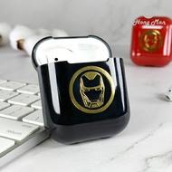 漫威MARVEL復仇者聯盟CAMINO AirPods硬式保護套 鋼鐵人(黑)Iron Man iphone耳機殼 正版3C