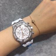 AP 愛彼 皇家橡樹離岸型 三眼計時 鑽錶 女士石英錶(寄出前可提供實物實拍/視頻)