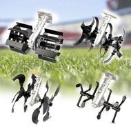 Universal Fit Farmer เครื่องมือเครื่องตัดแปรงอุปกรณ์เสริมหญ้า Weeder ดิน loosener ขุดล้อ Scarifier Tiller เครื่องคราดพรวน