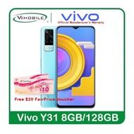 Vivo Y31 (Free $20 NTUC Voucher& Gift Box) | 2 years warranty by Vivo Singapore