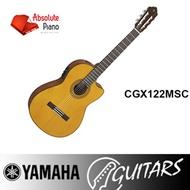 NEW! Yamaha Acoustic Guitar (Singapore Authorised Dealer) CGX122MSC
