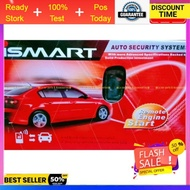 Universal Car Alarm Ismart / steel Mate Key auto start 2way WAY Security system remote control button engine starter