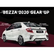 BEZZA NEW 2020 BODY KIT FRONT SKIRT + LED DAY LIGHT / REAR SKIRT LIP (GEAR UP LOOK) ABS BODY KIT BODYKIT