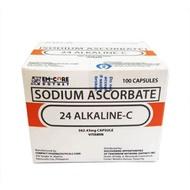 AUTHENTHIC 24 ALKALINE-C 100 CAP/BOX