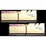 【一級棒】芝奇G.SKILL皇家戟 16G*2 雙通道 DDR4-3200 CL14(皇族金)(F4-3200C14D-32GTRG)終身保固