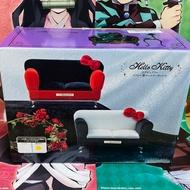 Hello Kitty 掀蓋式 首飾珠寶盒 沙發造型 景品 日版