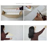 【韓國3D隔音泡棉磚壁貼】 3D彈性磚 立體磚紋牆貼 仿磚海綿 防撞環保壁紙 DIGITAL INTERNAT1116劉
