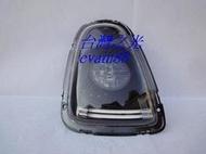 《※台灣之光※》全新BMW寶馬MINI COOPER ONE S R56 07 09 10 11年改LED光柱黑底尾燈組