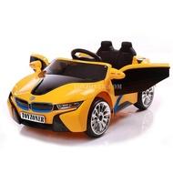 ToyZoner BMW i8 รถเด็กเล่น รถแบตเตอรี่ รถไฟฟ้า รถเด็กนั่ง 2มอเตอร์