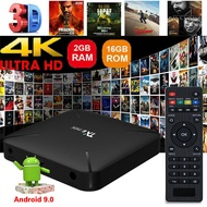 TX6 Mini Smart TV Box Quad Core 4K WIFI HDMI 2GB+16GB Android 9.0 Media Player