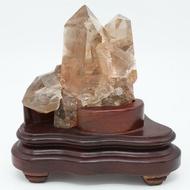 限量 天然黃水晶礦石鎮宅招財巴西黃水晶簇(002-07-001)