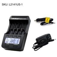 ✿艾米LiitoKala Lii-500 4插槽智能智能電池充電器套件,帶有美國適配器